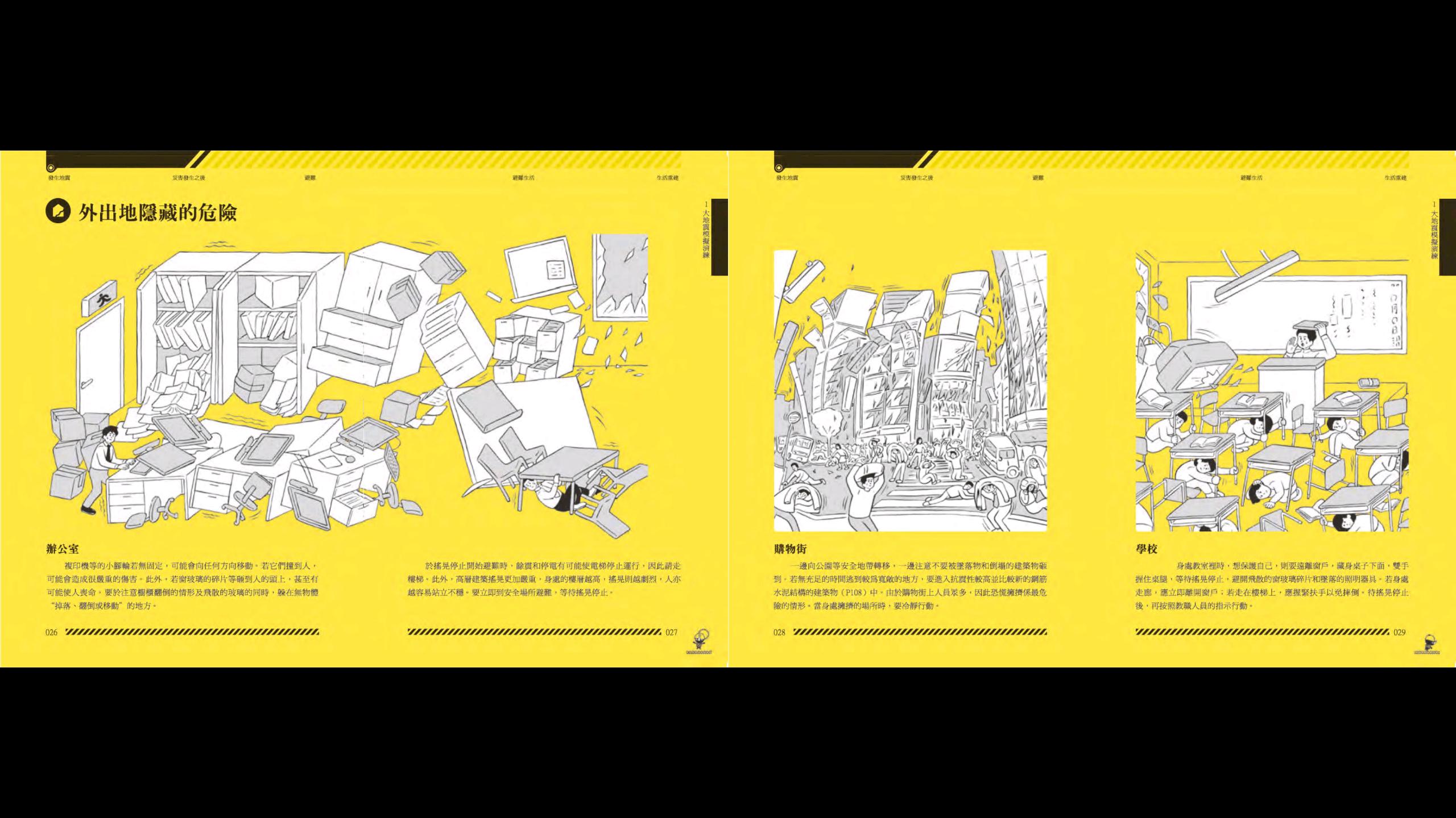 舊版在裝置上橫讀 - 四頁併成兩頁