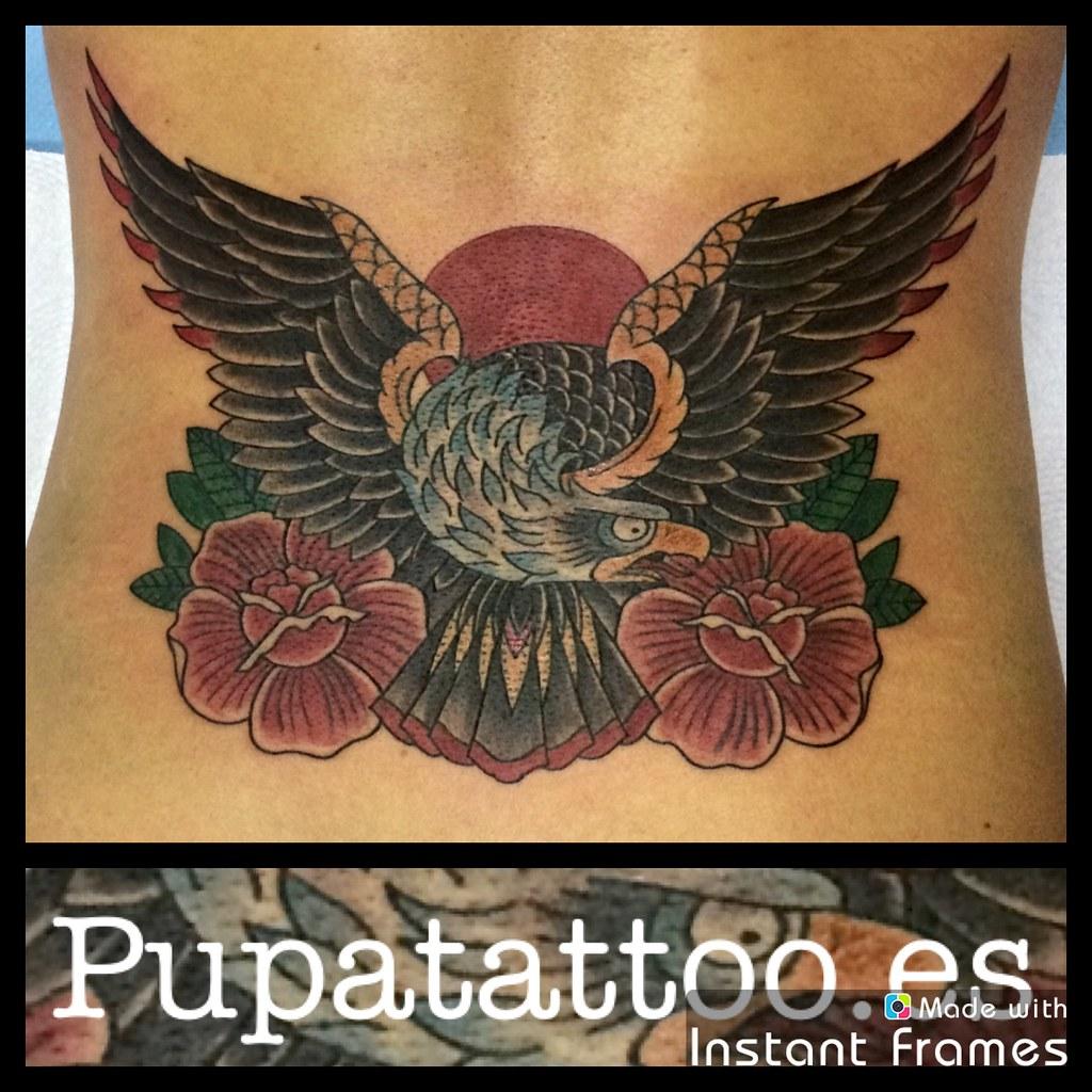 Tatuaje Aguila tatuaje aguila pupa tattoo granada | web: www.pupatattoo.es/… | flickr
