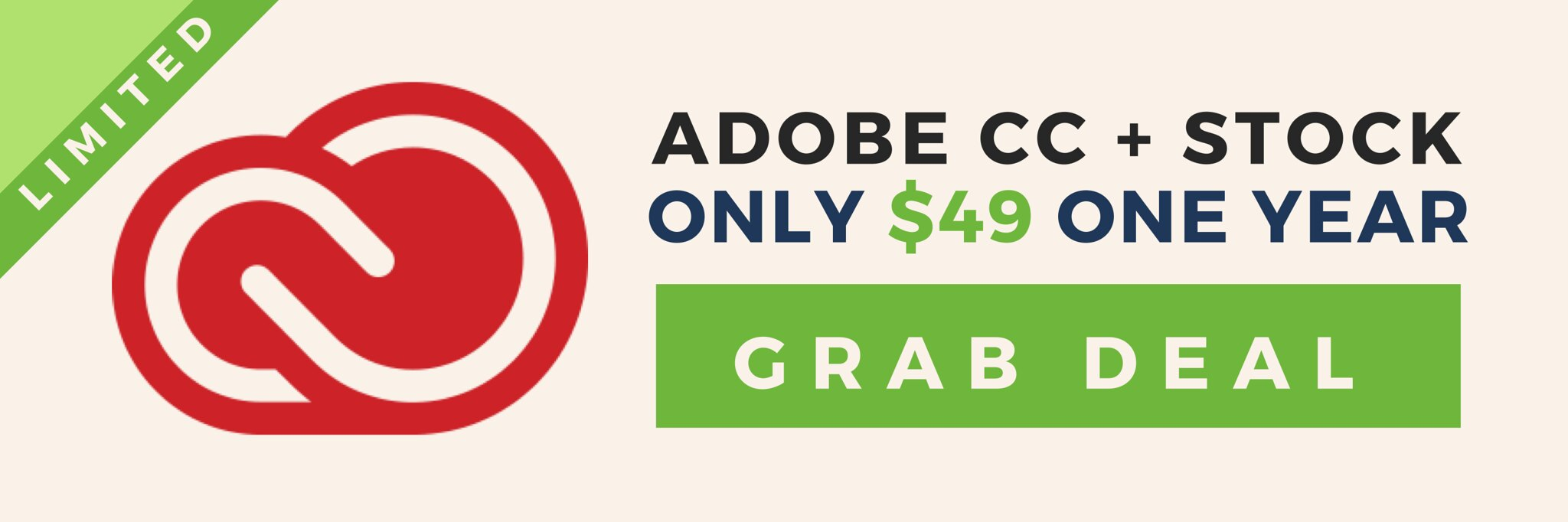 Adobe CC + Stock Deals