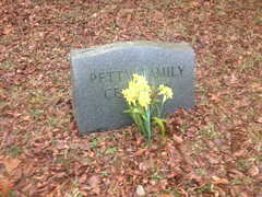 Petty Family Cemetery Marker