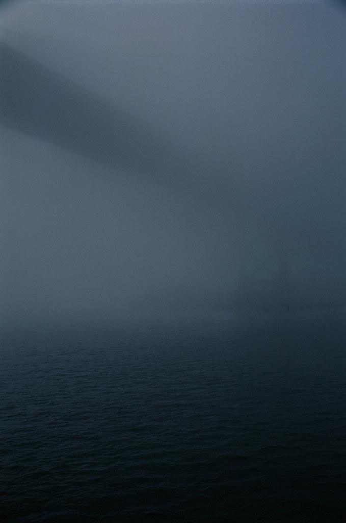 Bay Bridge in the Fog   by Robert Ogilvie