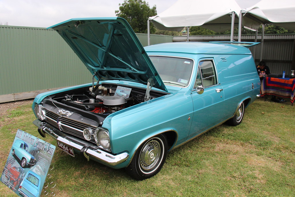 1966 holden hr panel van