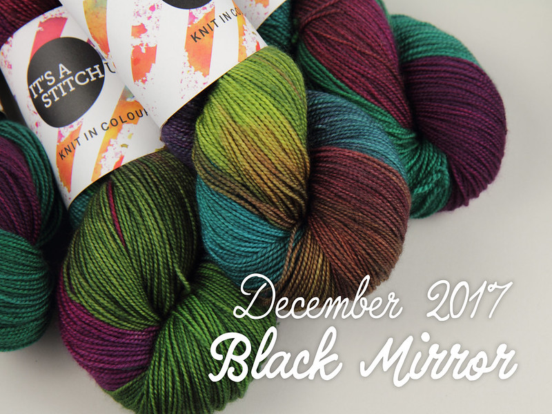 Yarn Club December 2017: 'Black Mirror'