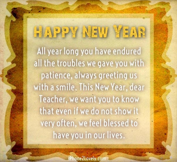happy new year 2018 quotes new year message for teacher