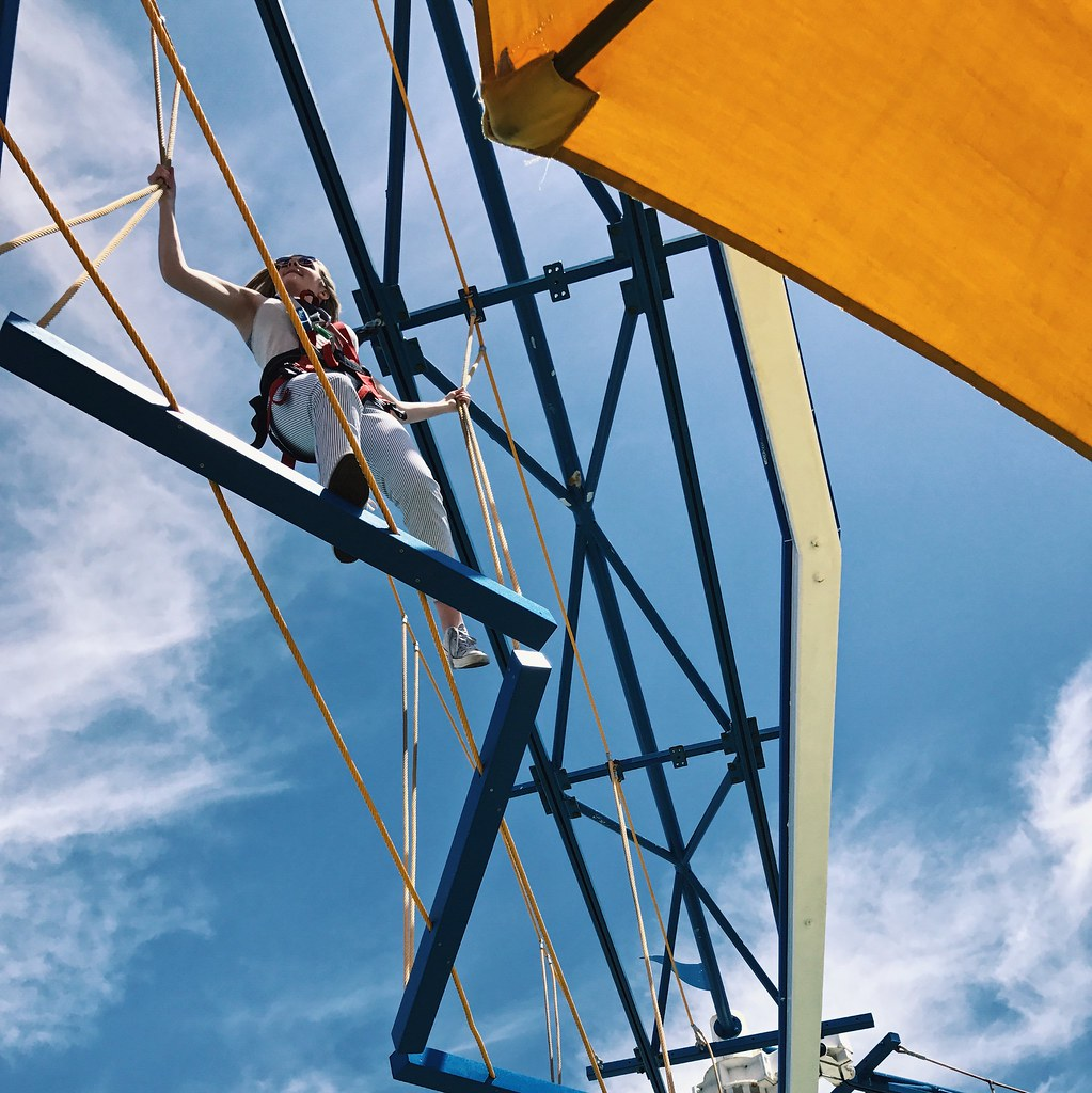 Carnival Dream's ropes course