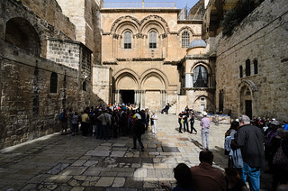 Church of the Holy Sepulchre, Jerusalem, Israel | by martareszka