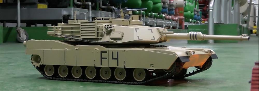 Un M1a2 Abrams Y Un Mercedes Arocs En Miniatura Que Me Han Dejado Boquiabierto