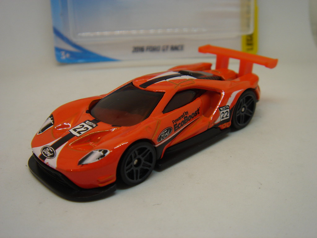 Hot Wheels  Ford Gt Race No Powered By Ecoboost   By Ambassador