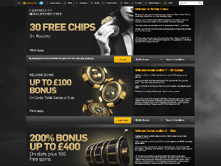 BetFair Casino Home