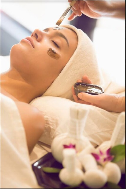The organic Spa masaje facial