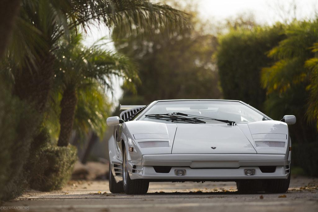 1989 Lamborghini Countach 25th Anniversary | Sold For $268,8… | Flickr