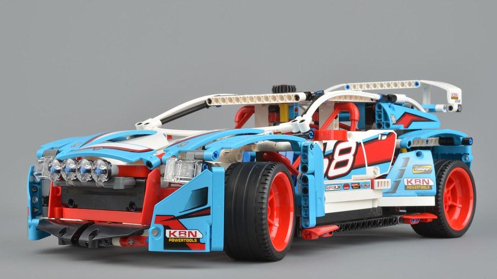lego technic 42077 rally car review brickset lego set. Black Bedroom Furniture Sets. Home Design Ideas