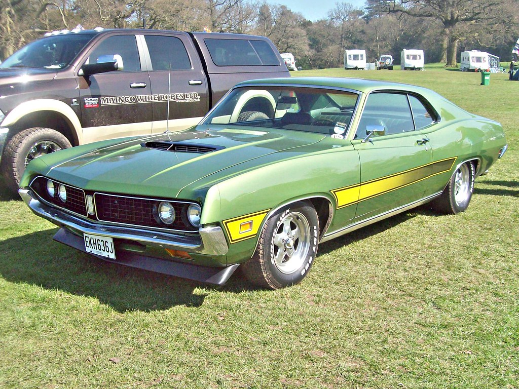 107 ford torino gt 2 door hardtop 1971 by robertknight16