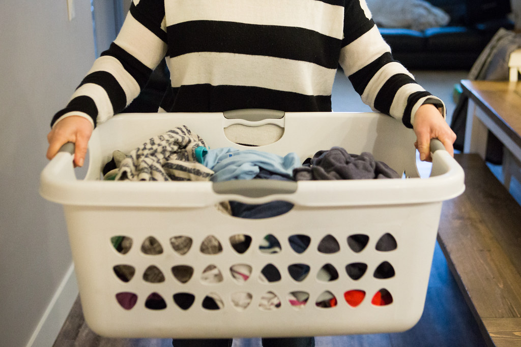 Why I can't let you help with the laundry