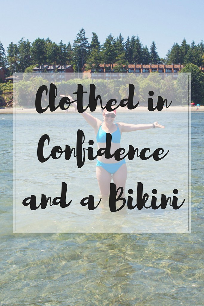If you want to wear a bikini then do it! The more variety of bodies seen the better for us and our children.