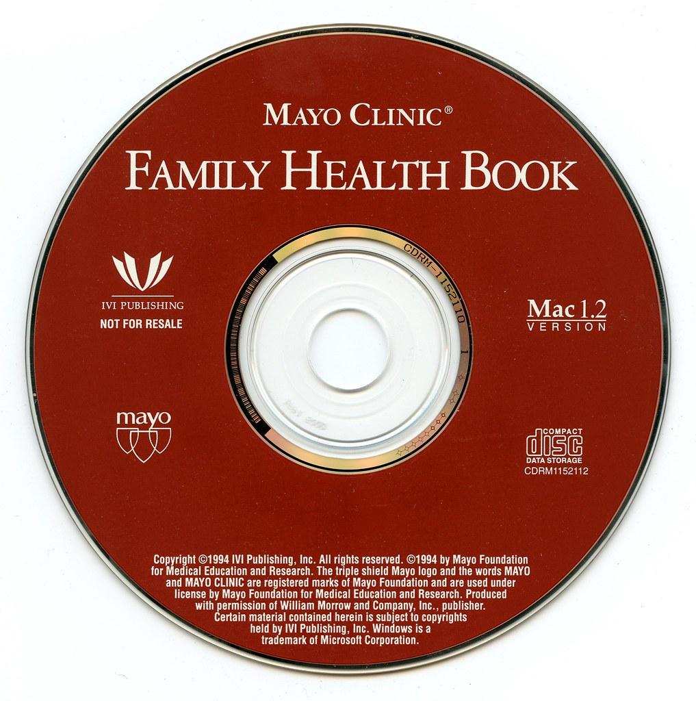 Mayo Clinic Family Health Book Mac 1 2 (IVI Publishing)(19… | Flickr