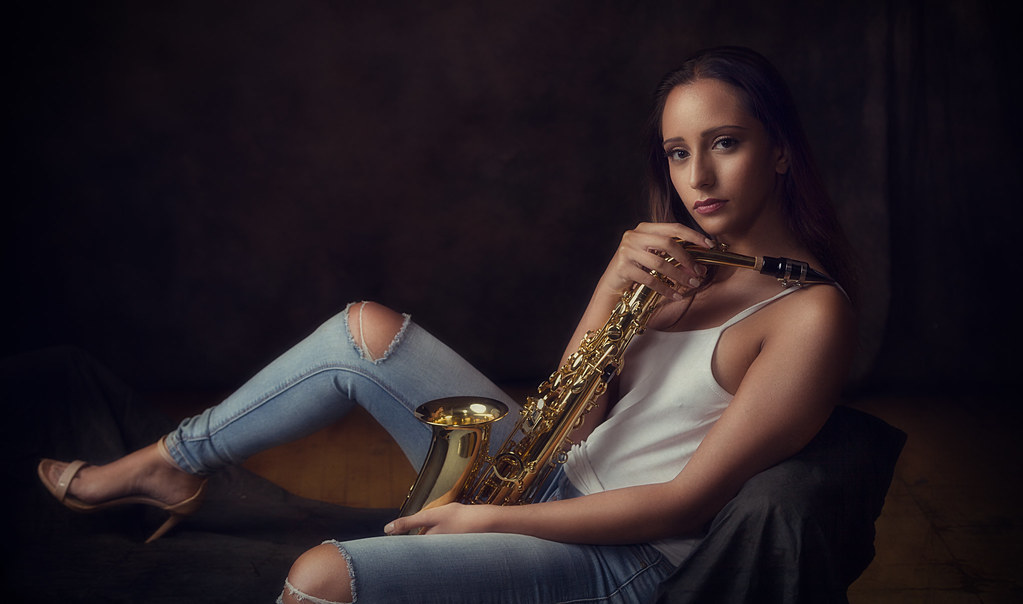 Sultry Sax Series  Help Support My Naked Musician Project -2577
