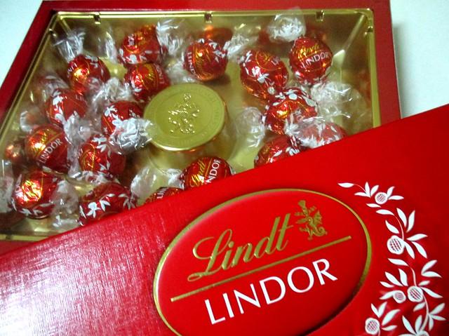 Flavours Thai Kitchen box of chocolates