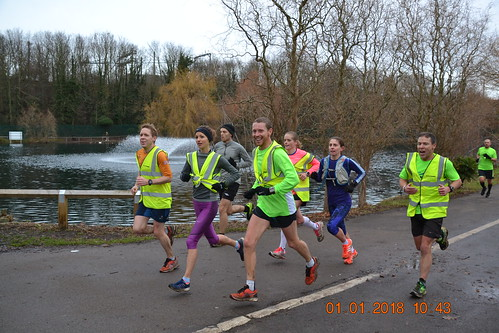 Paul Anderson at Chelmsford Central parkrun