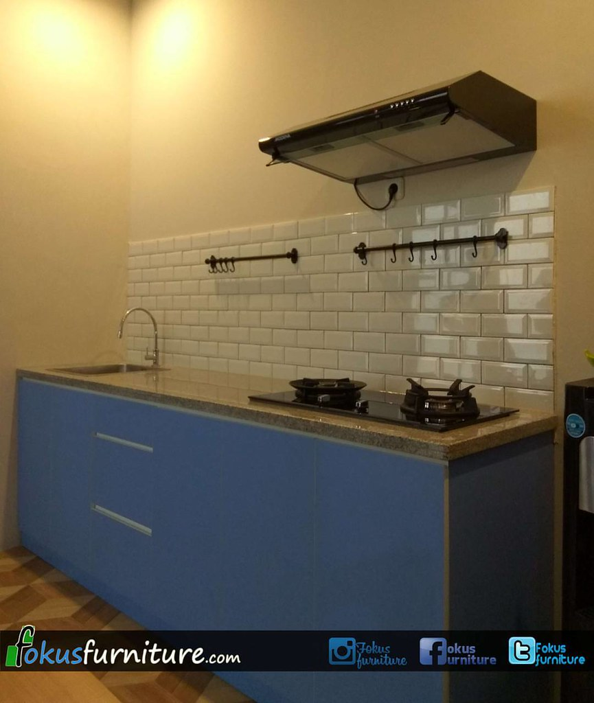 Kabinet Bawah Kitchen Set Minimalis Di Jagakarsa Jakarta S Flickr
