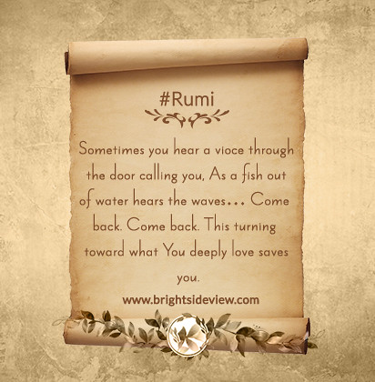 Rumi short quotes about life - Rumi Poems | Here you will ...
