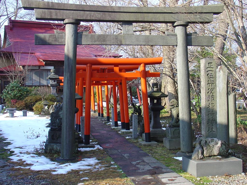 Yojiro Inari Shrine 与次郎稲荷...