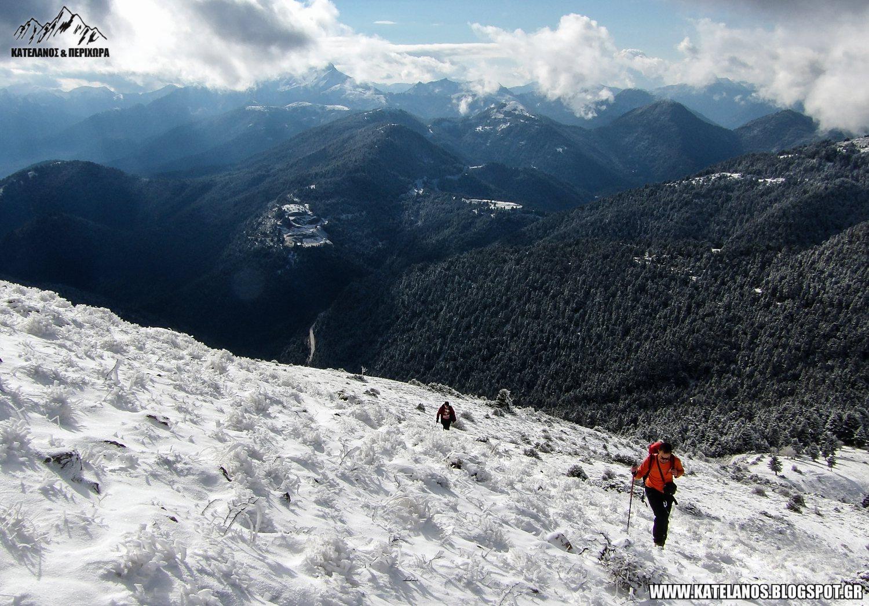 συμπεθερικο βουνο αναβαση ευρυτανια