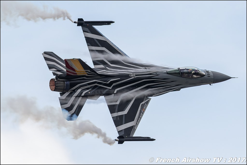 Belgian Air Force F-16 Solo Display , F-16 Demo Belgian Air Force , f-16 belge , Royal International Air Tattoo 2017 , Air Tattoo – RIAT 2017 , Fairford , UK Airshow Review 2017 , Meeting Aerien 2017
