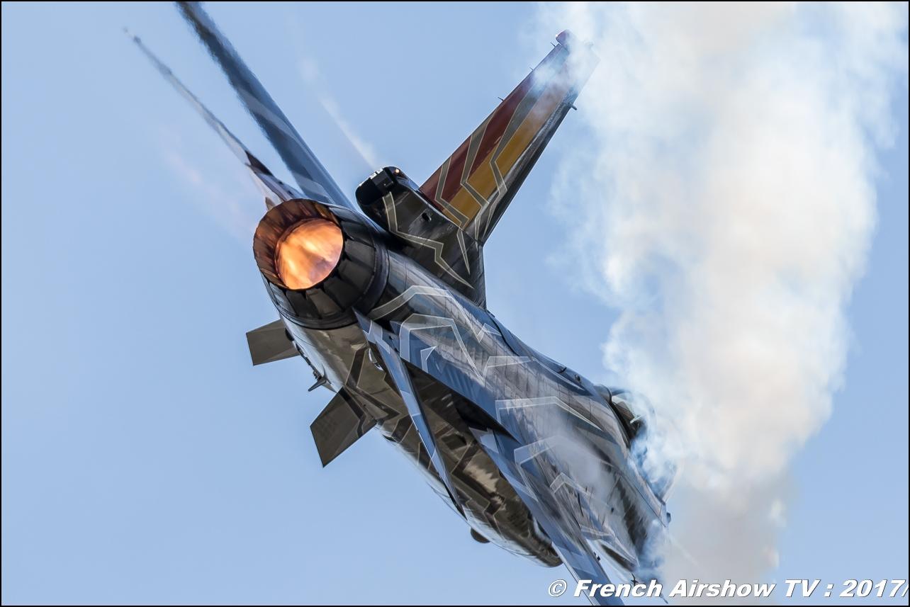Belgian Air Force F-16 Solo Display , F-16 Demo Belgian Air Force , f-16 belge , Royal International Air Tattoo 2017 , Air Tattoo – RIAT 2017 , BAF F-16 display , Fairford , UK Airshow Review 2017 , Meeting Aerien 2017