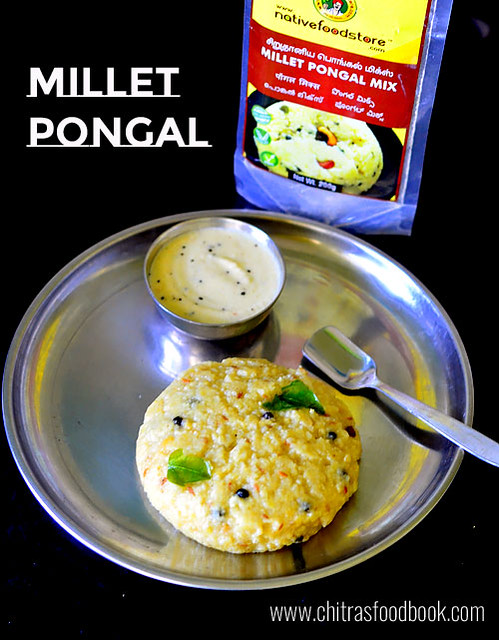 Millet Pongal Using Pongal Mix