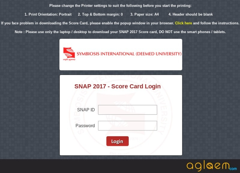 SNAP Result 2017 Announced - Check Here SNAP Scorecard, Cutoff