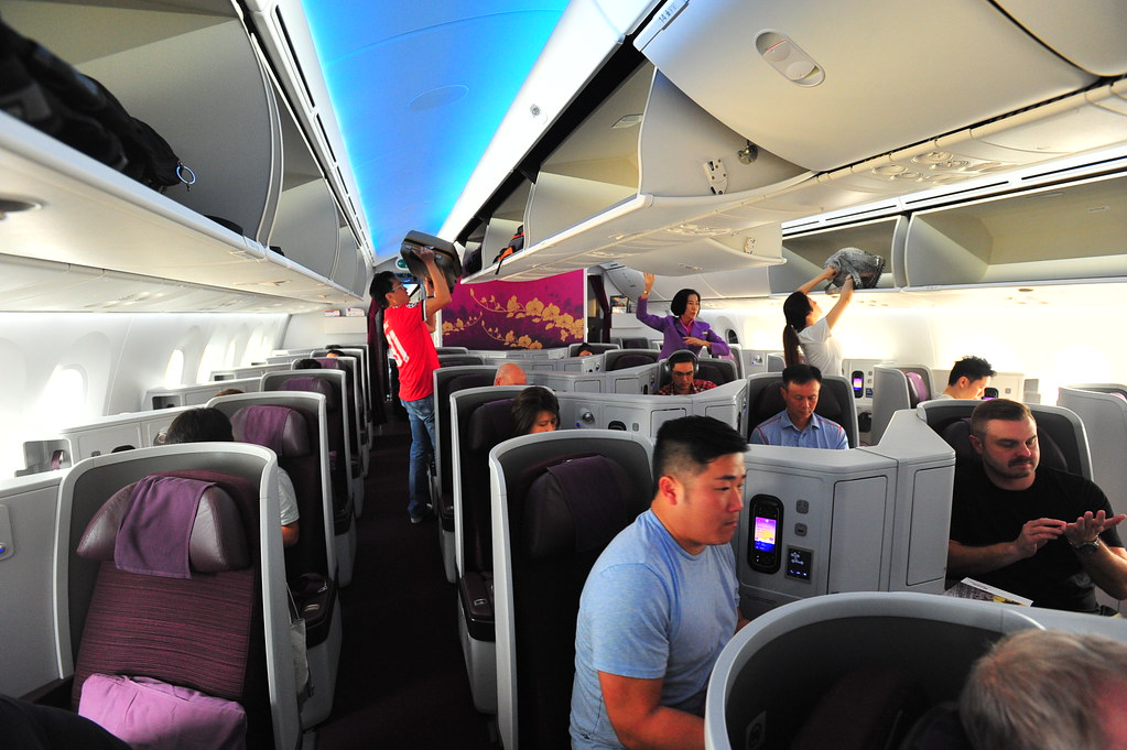Flying First Class (EVA & Thai Air) To Oz Via Taipei | The