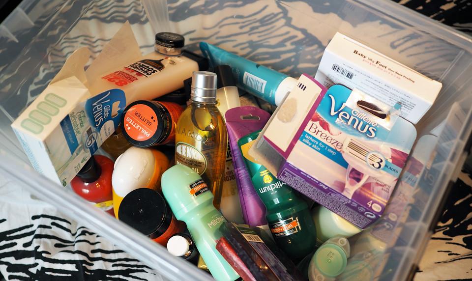vartalotuotteet kosmebloggaaja varasto