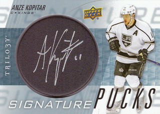 16-17 Upper Deck Trilogy Signature Pucks | by Hmbrg1887