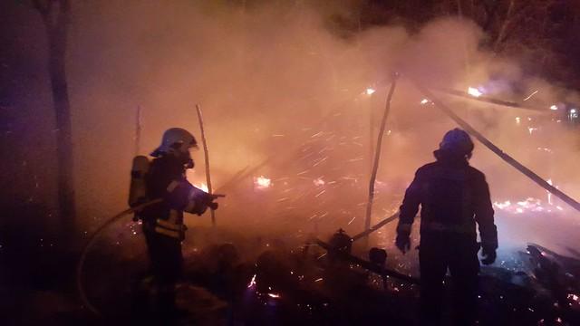 AionSur: Noticias de Sevilla, sus Comarcas y Andalucía 25393450088_61dcf2c350_z_d Se registra un incendio de madrugada en el asentamiento de La Venta en Arahal Sucesos