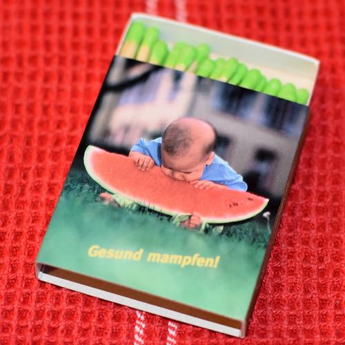 Gesund mampfen - Streichhölzer aus meinem Lieblings-Bioladen