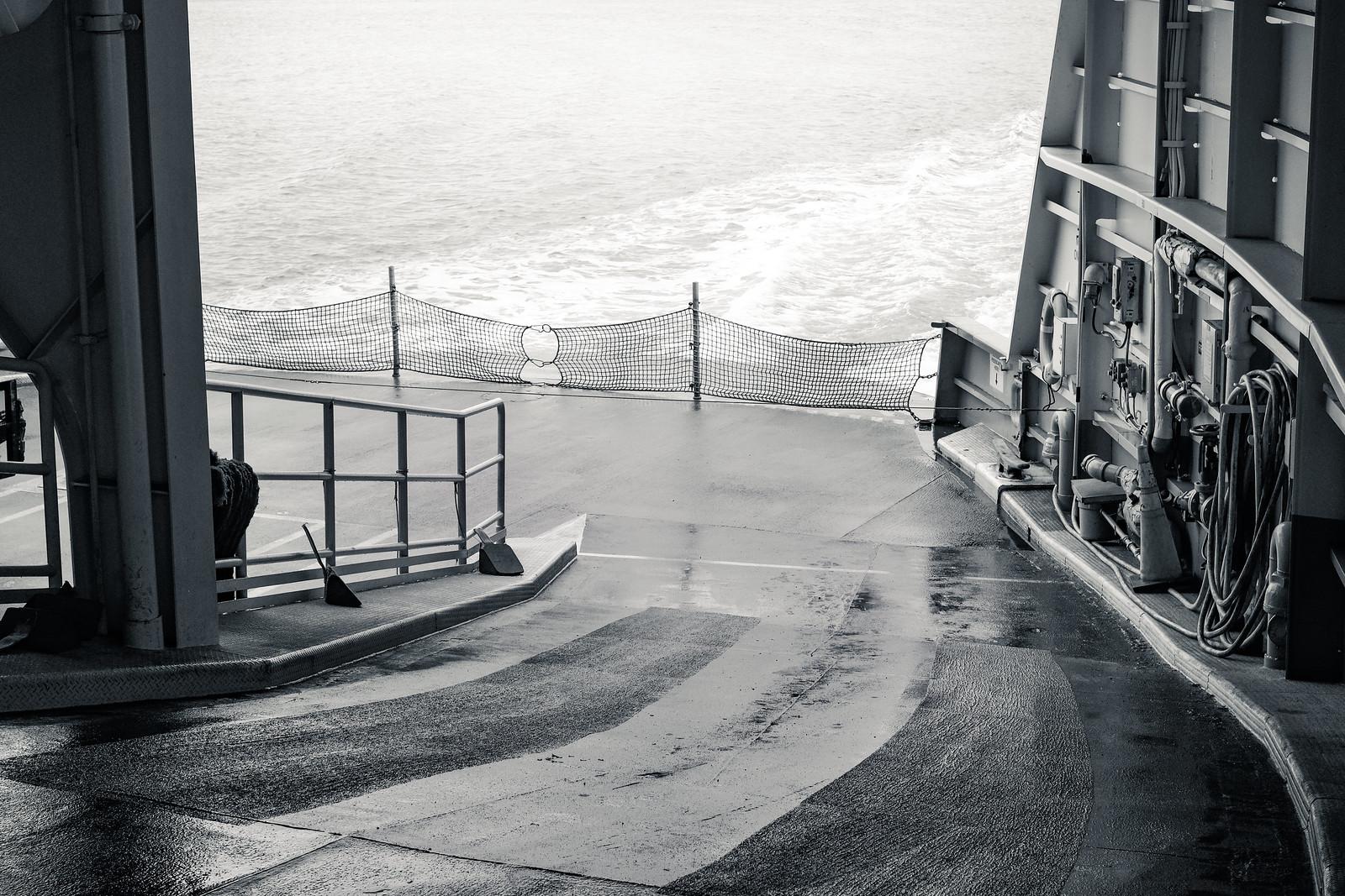 Car Deck, Aft   by Nicholas Lyle