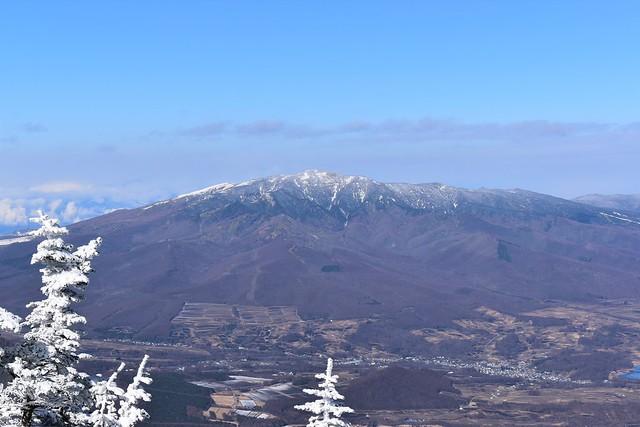 蛇骨岳から眺める四阿山