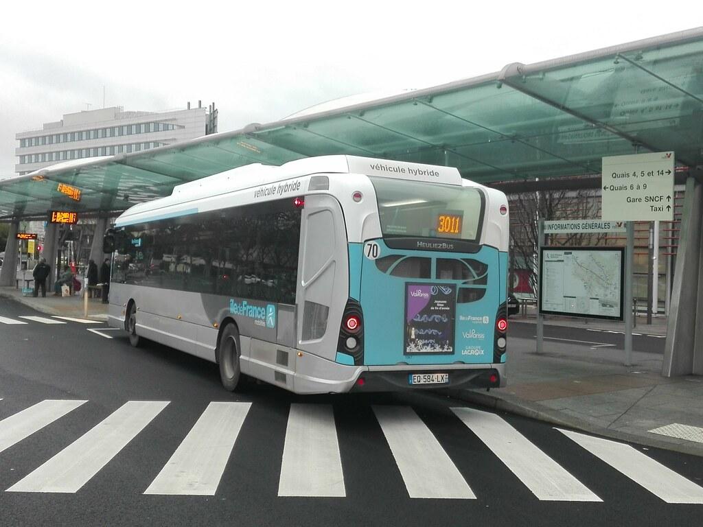 ... HeuliezBus GX 337 Hybride n°1067 sur la ligne 30.11 (Lacroix) | by