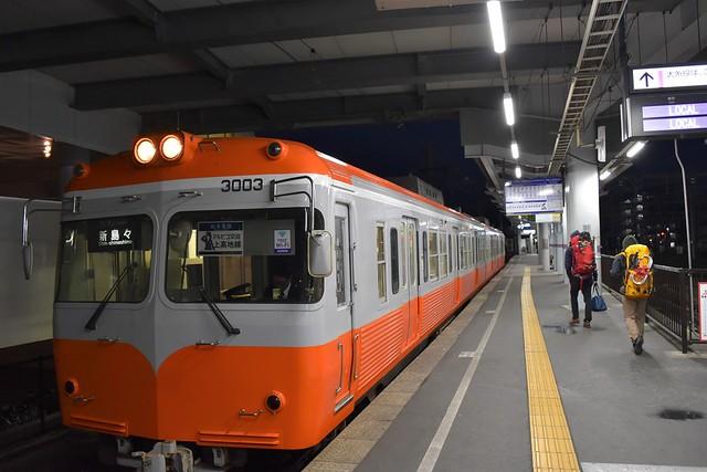 松本駅発 上高地線始発新島々行き