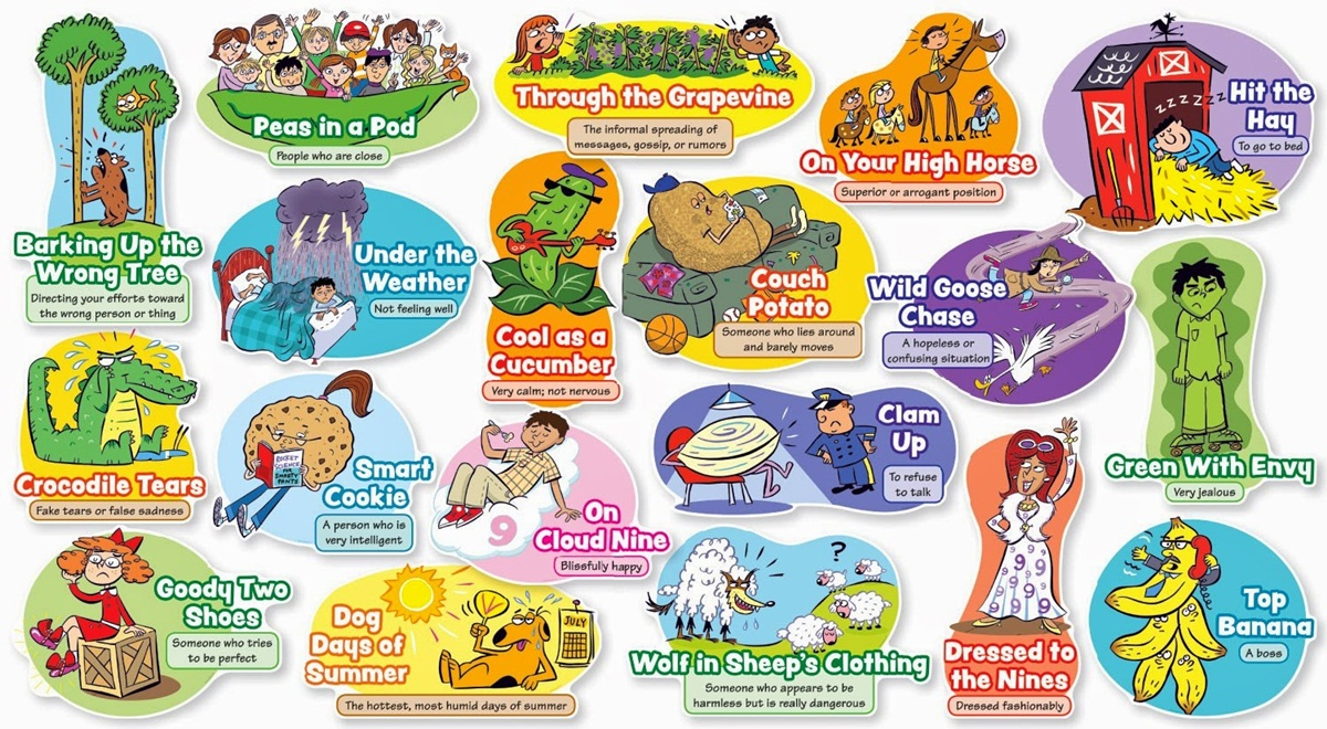 Commonly Used English Idioms 3