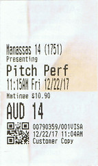 Pitch Perfect 3 ticketstub