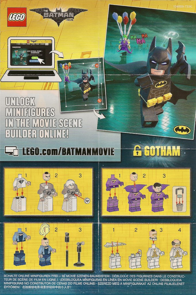 Series The Lego Batman Movie 2 Lego Instructions Series Th Flickr
