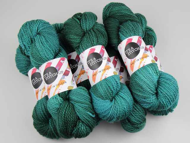 Sweater Pack: Awesome Aran yarn 6 x 100g – 'Heart of Glass'
