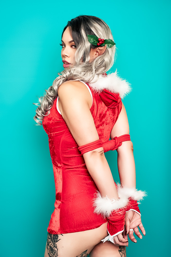 Kinky Christmas Elf | Model: Raquel Sparrow Strobist: Elinch… | Flickr