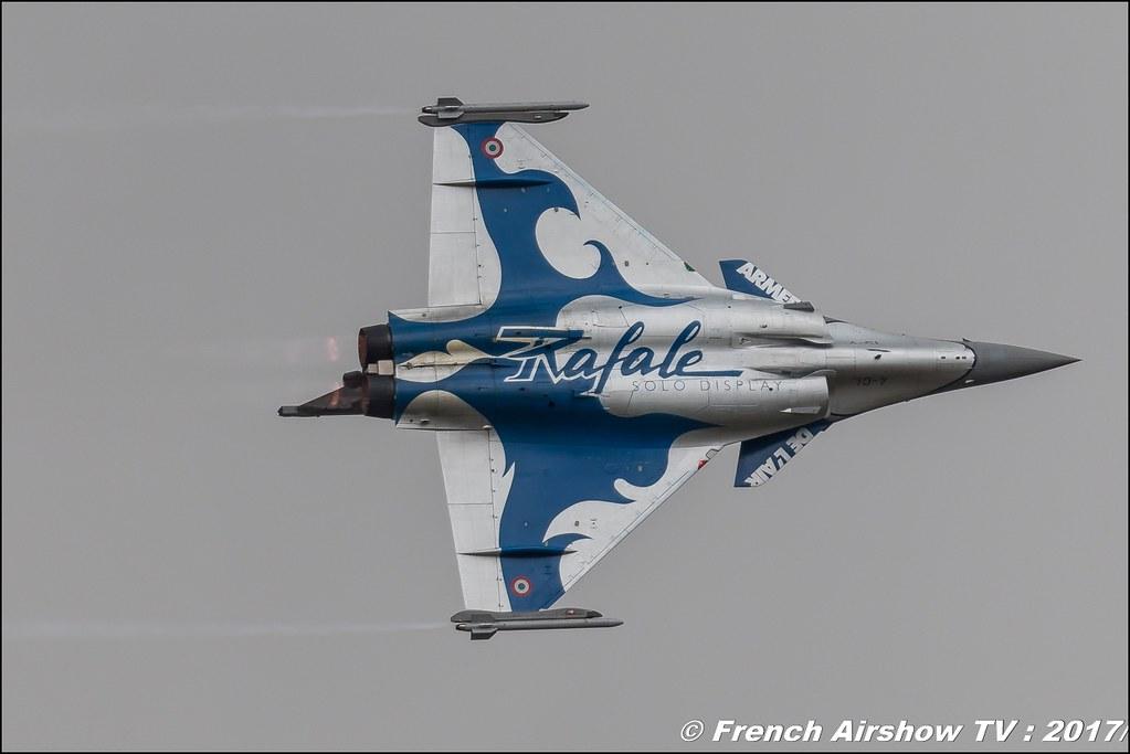 Rafale Solo Display Alpha , Dassault , RSD 2017 , French Air Force , Royal International Air Tattoo 2017 , Air Tattoo – RIAT 2017 , Fairford , UK Airshow Review 2017 , Meeting Aerien 2017