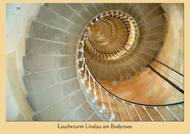 Aus meinem Fotoarchiv: Leuchturm Treppenhaus ... Foto: Brigitte Stolle