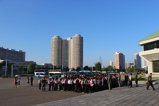 In front of the Pyongyang circus | by Timon91