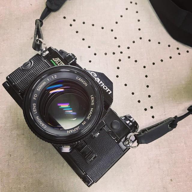 Canon FD 50mm f1.2 軟綿綿的大光圈