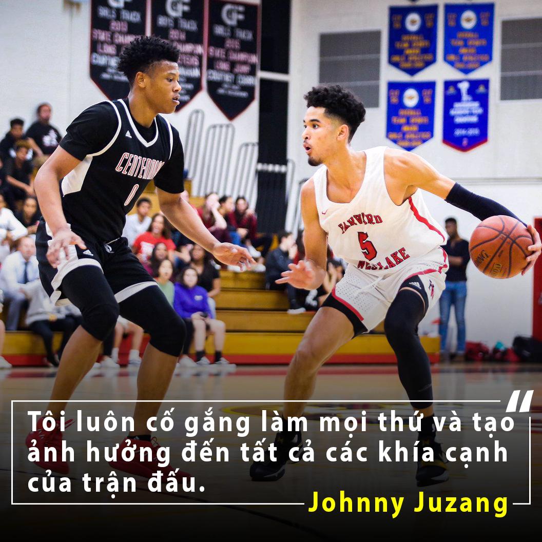 Johnny Juzang: tài năng bóng rổ gốc Việt và giấc mơ NBA